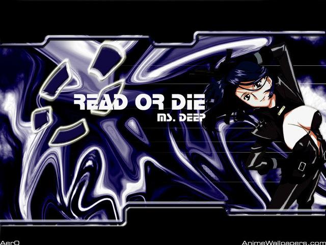 Read Or Die OVA Anime Wallpaper #2